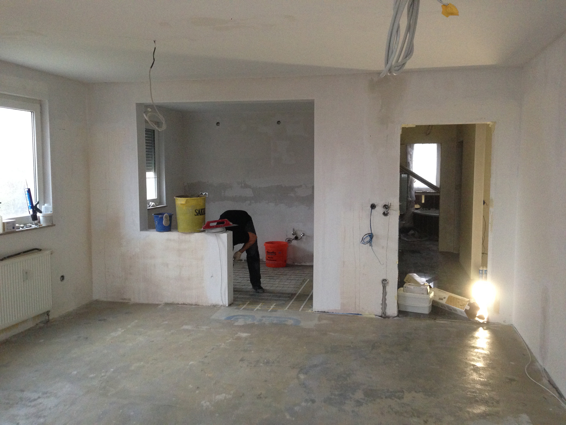 Wand Durchbruch wanddurchbruch offene küche. mediterrane küche landshut ikea